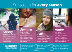 Sun Screen for All Seasons